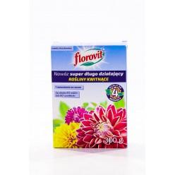 Удобрение Флоровит Супер длительного действия. для цветущих 300г коробка