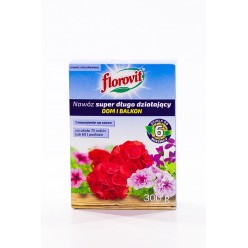 Удобрение Флоровит(Florovit) супер длительного действия для комнатных и балконных цветов, 300г (коробка)