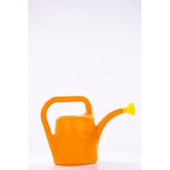 Лейка пластмассовая Кони 5л с рассеивателем оранжевый IKON5-R200