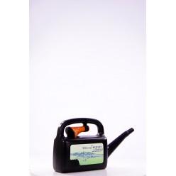 Лейка пластмассовая Аква 5л с рассеивателем чёрный микс IKAML05-S411