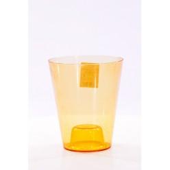Кашпо пластмассовое Вулкано для орхидей коричневый 2495-T05