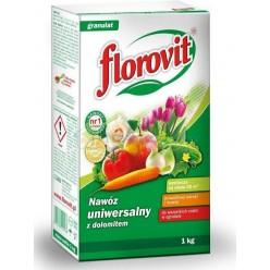 Удобрение Флоровит универсальное гранулированное с доломитом 1кг, коробка