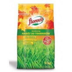 Удобрение Флоровит для газона осеннее 3 кг, (мешок)