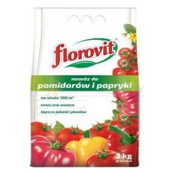 Удобрение Флоровит для томатов и перца гранулир., 3 кг