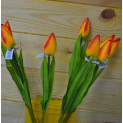 Цветок искусственный Тюльпан 57см микс FML073184