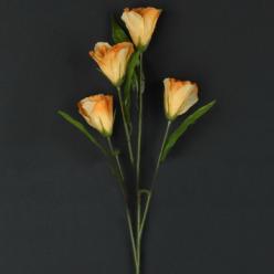 Цветок искусственный Эустома 60см микс L712