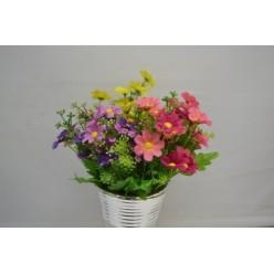 Цветок искусственный Ромашка в букете №11.05