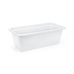 Ящик балконный Катура 800мм пластмассовый белый 431