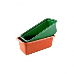 Ящик балконный Братек 600 пластмассовый терракот 347