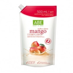 Жидкое мыло манго с экстрактом папайи ABE саше 500мл