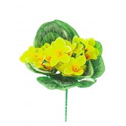 Цветок искусственный Фиалка  букет х5  №95