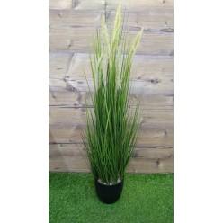 Трава искусственная в горшке, 0,91м