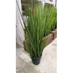 Трава искусственная в горшке, 0,61 м