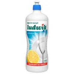 """Средство для мытья посуды плюс антибактериальный, """"Ludwik"""", 1000 гр"""