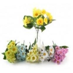 Цветок искусственный Ромашка 28 см, букет микс цветов