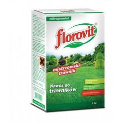 Удобрение Флоровит для газона гранулированное, 1 кг (коробка)