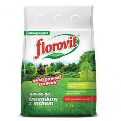 """Удобрение """"Флоровит"""" для газона гранулированное, 1 кг (мешок)"""