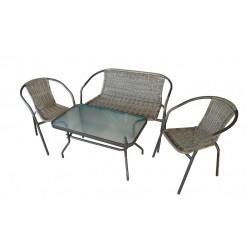 Набор мебели садовой: столик+2 кресла +лавка NEO2316