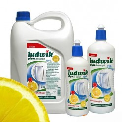 """Средство для мытья посуды плюс антибактериальный """"Ludwik"""", 5 л"""