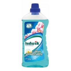 """Универсальное моющее средство с нейтрализатором неприятных запахов цветок лагуны """"Ludwik"""", 1 л"""