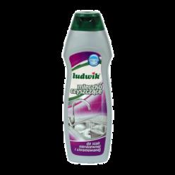 """Чистящее молочко для нержавеющей и хромированной стали """"Ludwik"""", 300 мл"""