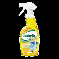 """Средство для мытья стекол и глазури лимон """"Ludwik"""", 750 мл"""
