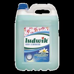 """Универсальное моющее средство с нейтрализатором неприятных запахов цветок лагуны, """"Ludwik"""" 5 л"""