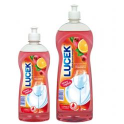 """Средство для мытья посуды """"Lucek""""  гранат с апельсином 500мл"""