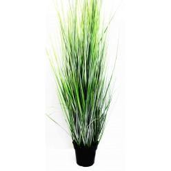 Трава искусственная декоративная в горшке