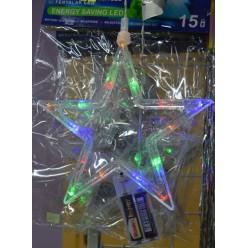 Украшение Лэд микс рождественский 20х16см на батарейках 1/17/LBC