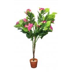 Растение искусственное Гортензия Микс 1м