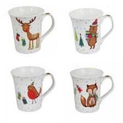 Чашка фарфоровая Рождественская 380 мл LIL8951