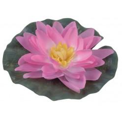 Лилия водяная искусственная розовая GW7295