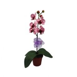Зажим пластиковый для орхидей фиолетовый 50.601.05