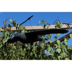 Фигура огородная Ворон летящий 80х40х12см PTA9172