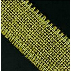 Лента джутовая хакки R020-11