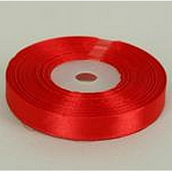 Лента атласная красная R122-06