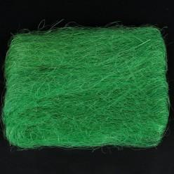 Тесьма флористическая сизаль зелёная R009-06