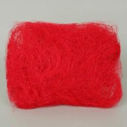 Тесьма флористическая сизаль красная R009-17