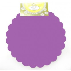 Фольга салфетка фиолетовая M0027-06
