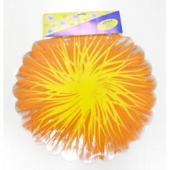 Фольга салфетка жёлто-оранжевая M0028 - 06