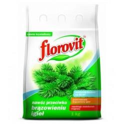 Удобрение Флоровит против побурения хвои 1кг, мешок