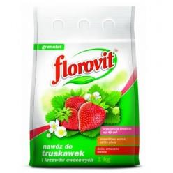 """Удобрение """"Флоровит""""(Florovit)  для клубники и земляники гранулированное, 1 кг (пакет)"""