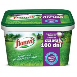 """Удобрение """"Флоровит"""" для газона долгодействующее """"100 дней"""", 4 кг (ведро)"""