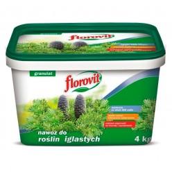 Удобрение Флоровит для хвойных гранулированное, 4 кг, ведро