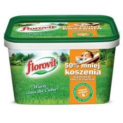 """Удобрение """"Флоровит"""" долгодействующее для газонов """"На 50% меньше косить"""", 4 кг (ведро)"""