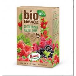 Удобрение Флоровит Про Натура БИО клубника, малина, ежевика 800г коробка