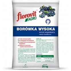 Удобрение Флоровит Агро  для голубики гранулированное 20кг, мешок