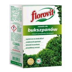 Удобрение Флоровит (Florovit) для самшита гранулир. 1 кг, коробка