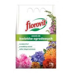 Удобрение Флоровит для садовых цветов 1 кг, мешок